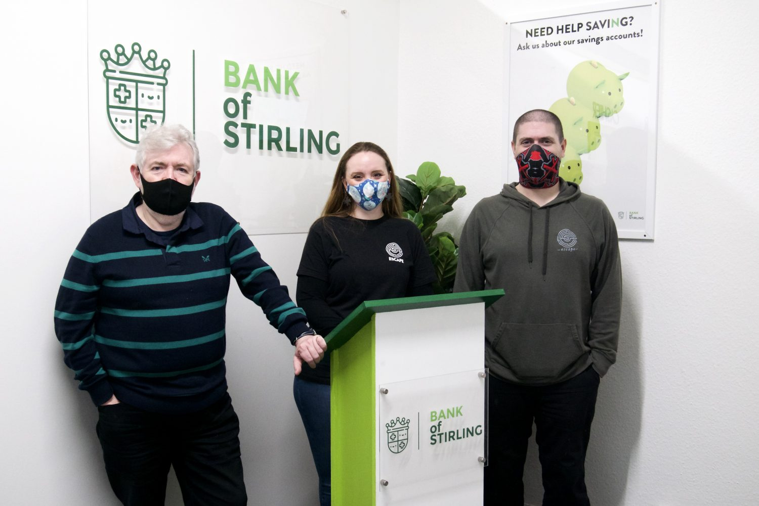 Escape Stirling owners