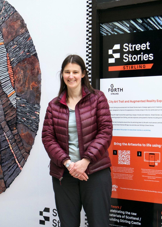 Rachel Davies Mosaic Artist Street Stories Stirling