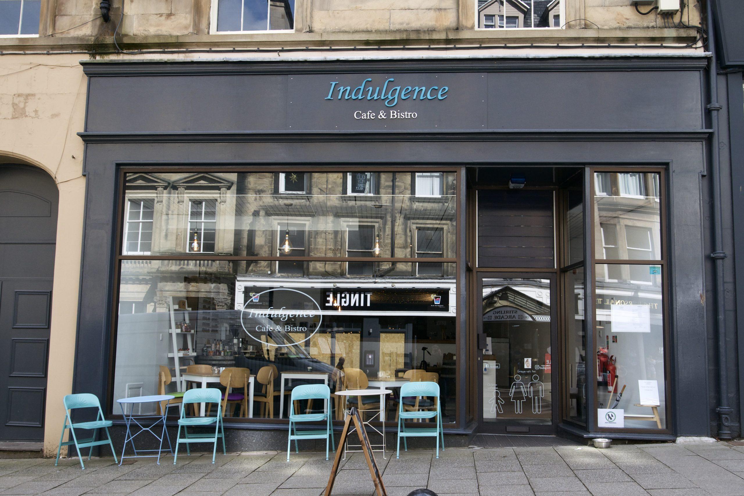 Indulgence Cafe & Bistro Stirling