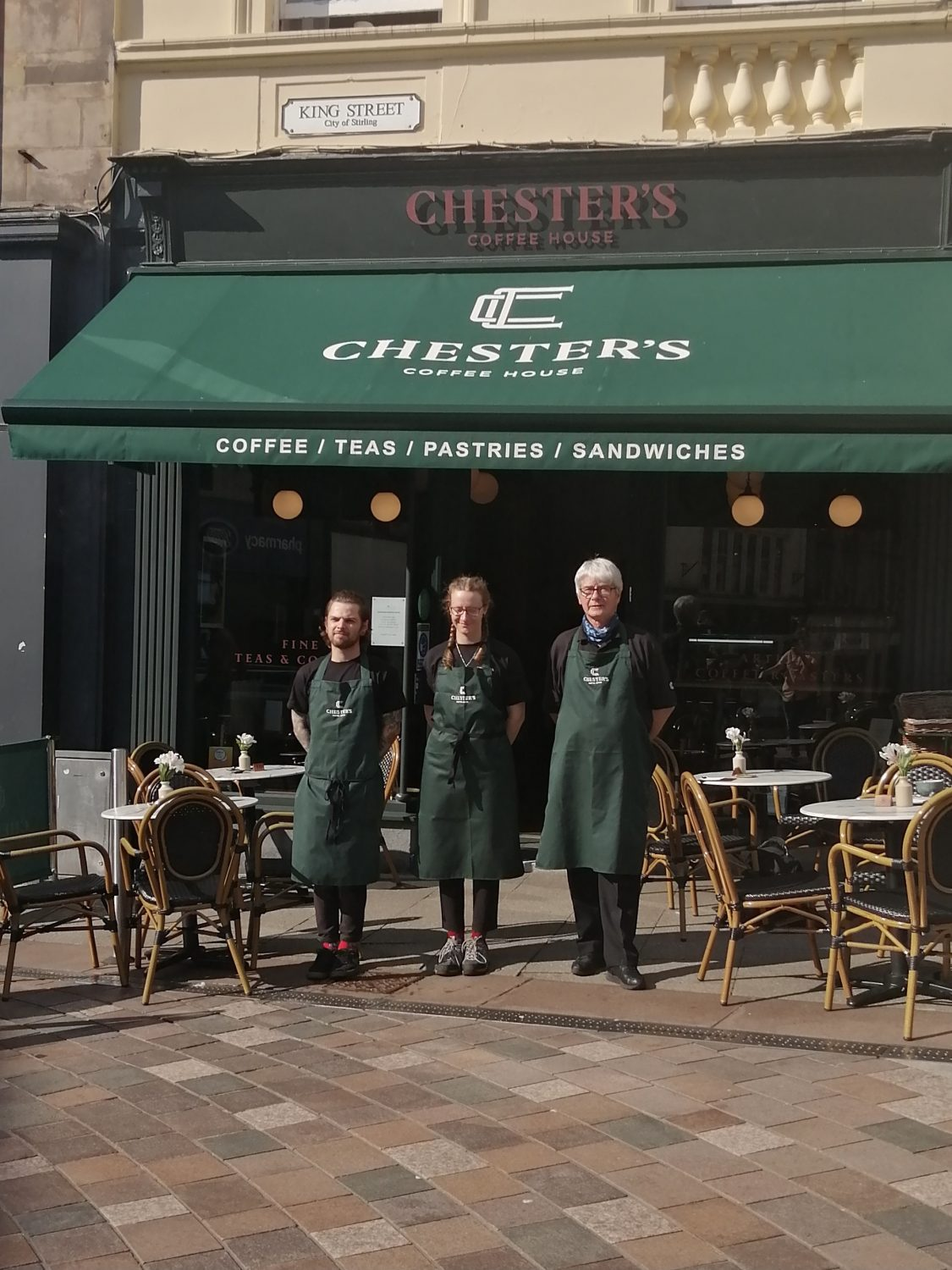 Chester's Coffee House Stirling