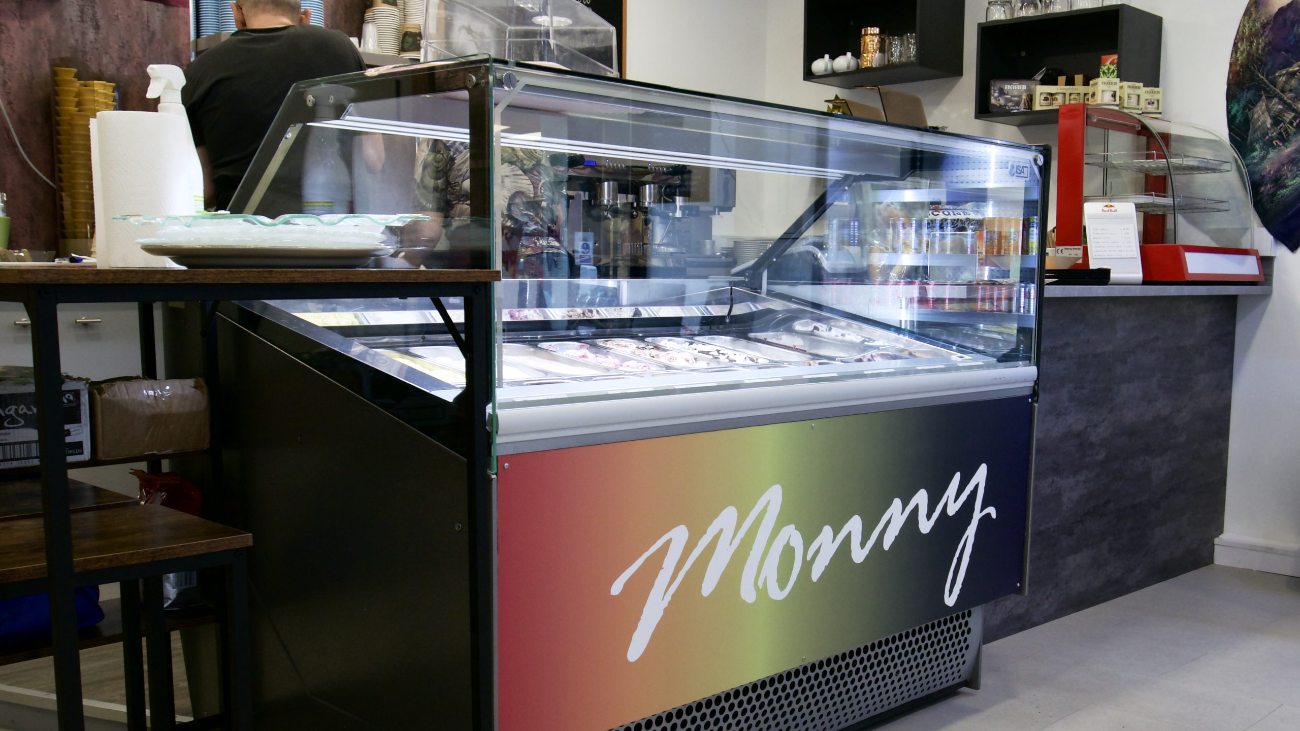 Monny ice cream Stirling